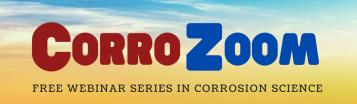 logo for CorroZoom corrosion webinar series Fontana Corrosion Center Ohio State